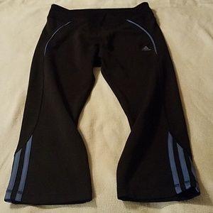 Like new Adidas capri leggings